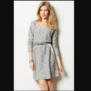 Anthro Saturday Sunday Gael Gray Sweater Dress
